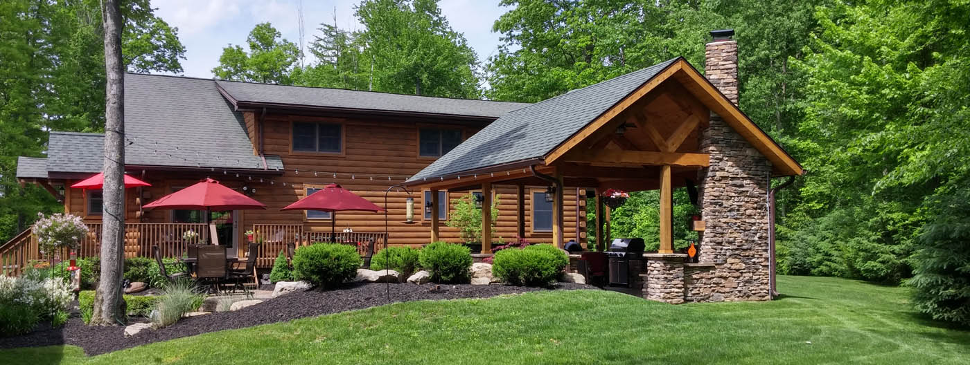 Hidden Valley Log Homes Custom Log Homes In Northeast Ohio